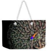 Ocean Art Cactus Coral Weekender Tote Bag