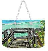 ocean / Beach crossover Weekender Tote Bag