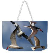 Ocean Bird Collage Weekender Tote Bag