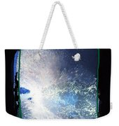 Ocean - Black And White Abstract Weekender Tote Bag