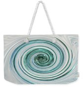Ocean Blue Whip Weekender Tote Bag