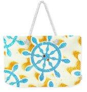 Ocean Circles Weekender Tote Bag