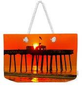 Ocean City Sunrise Weekender Tote Bag