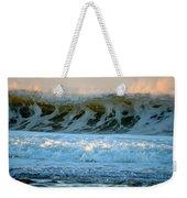 Ocean Energy At Sunrise Weekender Tote Bag
