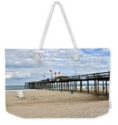 Ocean Fishing Pier Weekender Tote Bag
