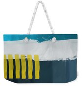 Ocean Front Walk 2- Art By Linda Woods Weekender Tote Bag