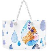 Ocean Girl Weekender Tote Bag