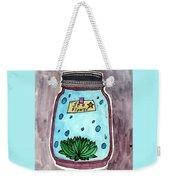 Ocean In A Botle  Weekender Tote Bag