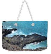 Ocean Inlet Weekender Tote Bag
