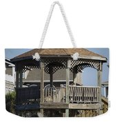 Ocean Isle Pig Weathervane Weekender Tote Bag