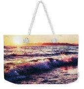 Ocean Landscape Sunrise Weekender Tote Bag