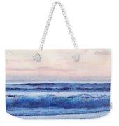 Ocean Painting 'dusk' By Jan Matson Weekender Tote Bag