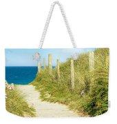 Ocean Path In Cornwall Weekender Tote Bag