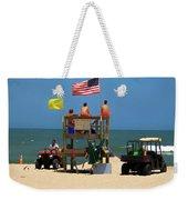Ocean Rescue  Weekender Tote Bag