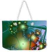 Ocean Secrets Abstract Weekender Tote Bag