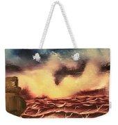 Ocean Storm Weekender Tote Bag
