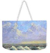 Ocean Storm Sunrise Weekender Tote Bag