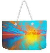 Ocean Sunset  Weekender Tote Bag