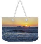 Ocean Wave Kisses The Sun Weekender Tote Bag