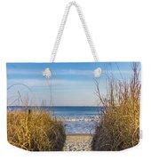 Ocean Through The Dunes Weekender Tote Bag