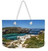 Ocean Water And Rocks Weekender Tote Bag
