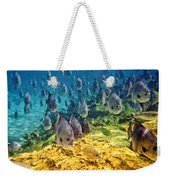 Oceans Below Weekender Tote Bag