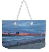 Oceanside Weekender Tote Bag