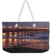 Oceanside Pier In The Mist Weekender Tote Bag