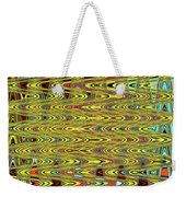 Oceanside Sea Lions On The Dock Abstract #9a Weekender Tote Bag