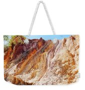 Ochre Pits Colours, West Mcdonald Ranges Weekender Tote Bag