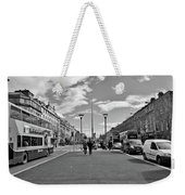 O'connell Street In Dublin Weekender Tote Bag
