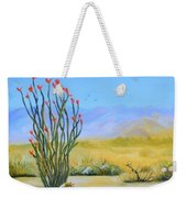 Ocotillo In The Park Weekender Tote Bag
