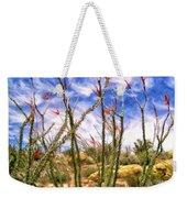 Ocotillos In Bloom Weekender Tote Bag