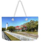 Ocracoke Lighthouse, Ocracoke Island, Nc Weekender Tote Bag