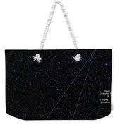 Octans, Apus, South Celestial Pole Weekender Tote Bag