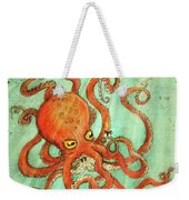 Octo Tako With Surprise Weekender Tote Bag