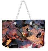 October Acorn Weekender Tote Bag