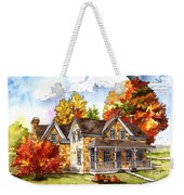 October At The Farm Weekender Tote Bag