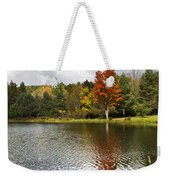 October Brisk Waterscape Weekender Tote Bag