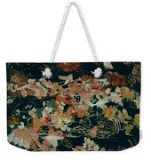 October Flowers By Night Weekender Tote Bag