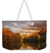 October Lights Weekender Tote Bag