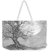 October Moon Weekender Tote Bag