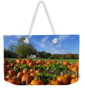 October Postcard  Weekender Tote Bag