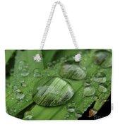 Big Drops Of Rain Weekender Tote Bag