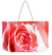 October Rose Close Up Weekender Tote Bag