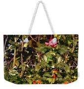 October Rose Weekender Tote Bag