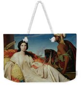 Odalisque Weekender Tote Bag by Francois Leon Benouville