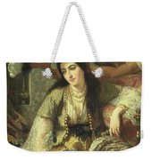 Odalisque Weekender Tote Bag by Jean Baptiste Ange Tissier