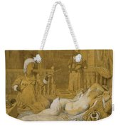 Odalisque With Slave Weekender Tote Bag