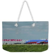 Odd Couple Delta Airlines Southwest Airlines Art Weekender Tote Bag